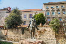 Equestrian Statue Of St. Georg...