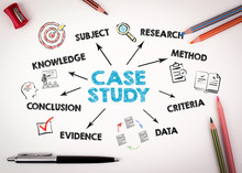 Case Study Concept. Chart With...
