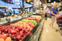 Abstract Blur Fresh Organic Fr...