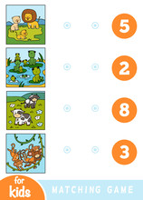 Matching Education Game For Ch...