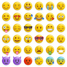 Smiley Emoticon Glossy Vector ...