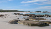 Shot Bay Of Fires On The East ...