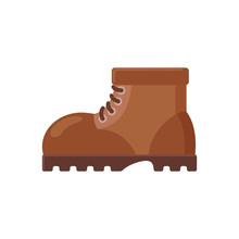 Brown Boot Icon