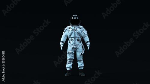 Fotografía  Astronaut Advanced Crew Escape Suit with Black Visor and White Spacesuit with Ne