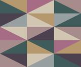 Streszczenie romb ciepłe kolory wzór - 252804779