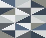 Streszczenie romb zimnych kolorów wzór - 252804780