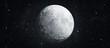 Leinwanddruck Bild - moon