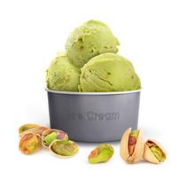 Pistachio Ice Cream In A Paper...