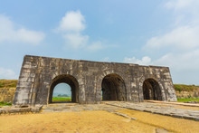 Ho Citadel In Thanh Hoa,Vietnam. World Heritage Site