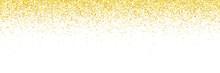 Wide Gold Glitter Falling Part...