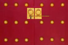Chinese Red Door