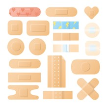 Collection Of Adhesive Bandage...