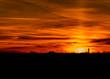 canvas print picture - Sonnenuntergang,Sunset