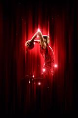 Człowiek koszykarz