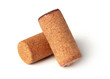 Corks isolated on white