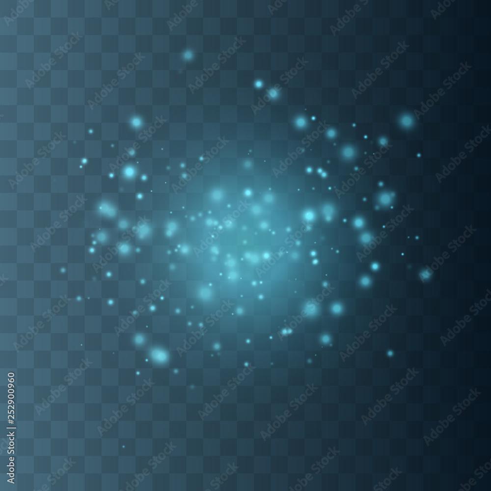 Fototapety, obrazy: Glow light effect.