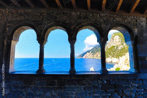 Portovenere (Porto Venere) Italy is the gateway to Cinque Terre and offers amazi Canvas-taulu