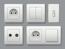 Electric Socket Switches. Hous...
