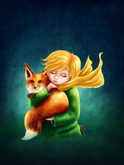Little Boy and the Fox