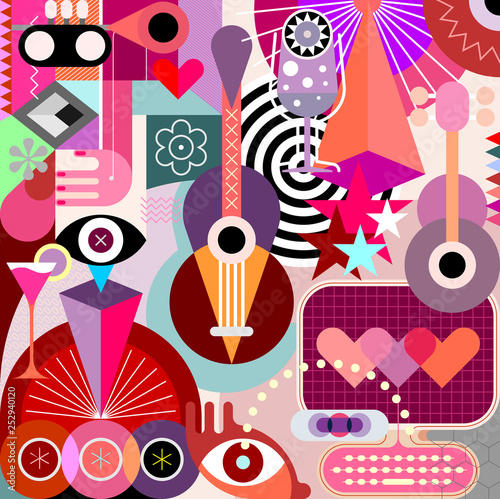 Abstract Art vector illustration