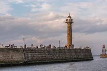 Lighthouse, Whitby, United Kin...