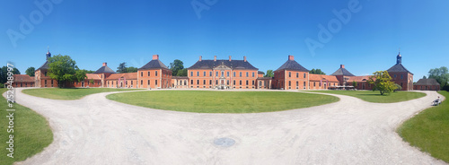 Photo  Bothmer Palace in Baroque style near Klutz