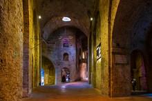 Perugia, Italy - Underground T...