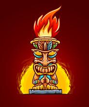 Tiki Traditional Hawaiian Trib...