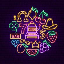 Casino Neon Concept
