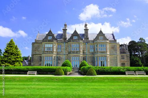 Fotografie, Obraz  Muckross House, a 19th-century mansion with garden in Killarney National Park, R
