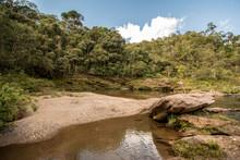 Stony Creek In Rural Brazil, W...
