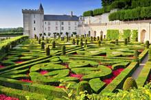 Villandry Castle With Garden I...