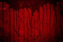 Bloody Metal Wall  In The Dark