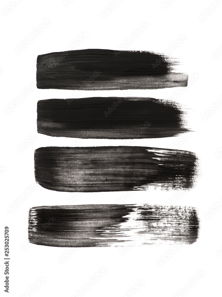 Fototapety, obrazy: brushes lines design elements