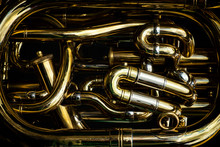 Detail Of The Brass Pipes Of A...