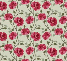 Japanese Carnation Flower Patt...
