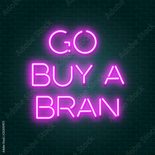 Garden Poster Retro sign funny neon sign