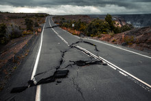 Damaged Asphalt Road (Crater R...