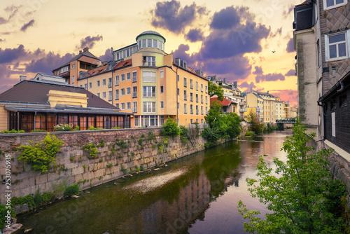 Spa resort town of Baden bei Wien. Austria, Europa