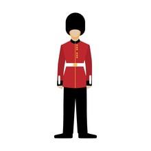 Royal British Guardsman. Soldi...