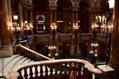 Obraz na płótnie Paris; France - august 4 2018 : Opera de Paris