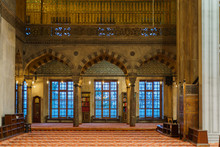 Interior Of Sultan Ahmed Mosqu...