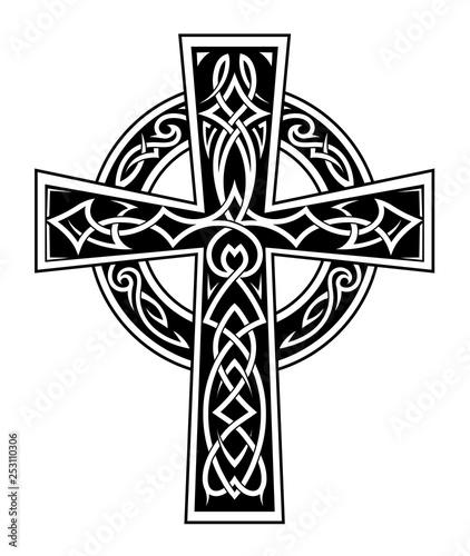 Fotografija Celtic style cross tattoo