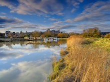 Arundel Castle And Town On The...