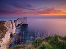 Sunrise At Old Harry's Rocks, ...