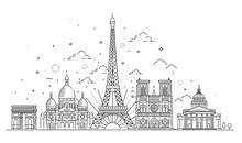 Architectural Landmarks Of Paris