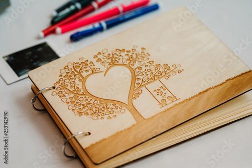 Slika na platnu guest book of wishes