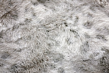 Textured Background Of White And Grey, Soft And Cozy Faux Fur Blanket