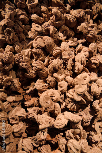 Red Barite crystals naturally formed into petals to yield rose-like clusters cal Wallpaper Mural
