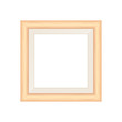 framework brown pastel wooden blank for picture, image of square frames brown soft color square isolated on white background, blank vintage frame image cute, empty frames picture chic luxury on white